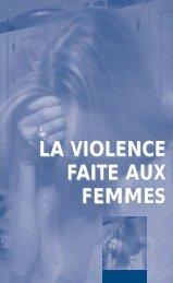 La violence faite aux femmes