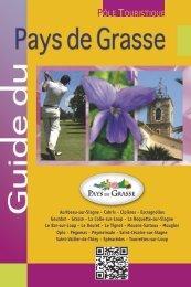 Guide du Pays de Grasse - 2012 - Office de tourisme de Grasse