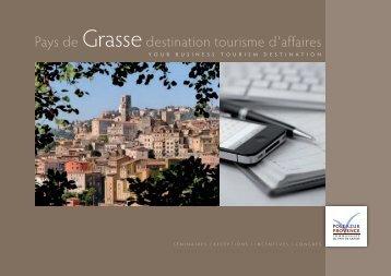 Brochure Tourisme d'Affaires - Office de tourisme de Grasse