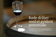 Prisen på anerkendt rødvin er steget markant i de ... - Marie von Ahm