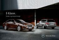 Last ned E-Klasse brosjyren her (pdf) - Mercedes Benz