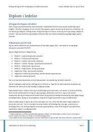 Diplom i ledelse - FFD.dk
