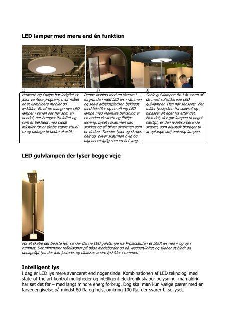 Se lyset på Orgatec - EFG Bondo