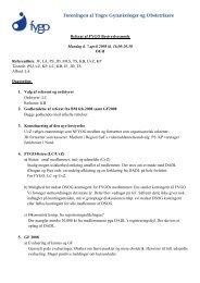 Bestyrelsesmøde d. 7. april 2008
