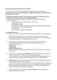 Beretning til generalforsamling den 10. marts ... - By og Land Skive