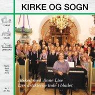 Kirke og Sogn nr .1 2012 - Lyngå