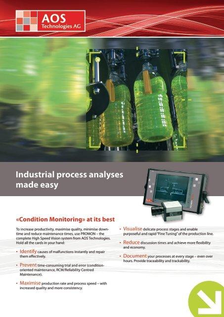 Process Monitoring brochure in English (PDF) - AOS Technologies AG