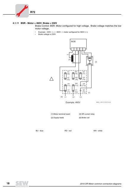 R72 4.1.11 BSR - Motor = on