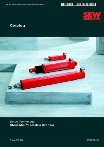 Catalog ? CMS50/60/71 Electric Cylinder