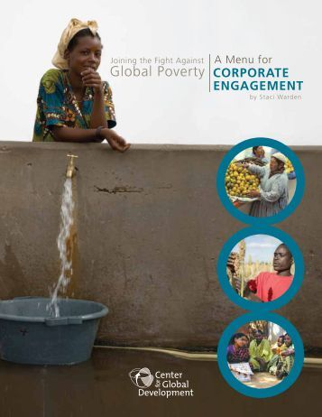 Joining the fight against global poverty: a menu for corporate ...