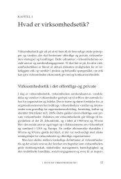 Se bogens kapitel 1: Hvad er virksomhedsetik - Samfundslitteratur