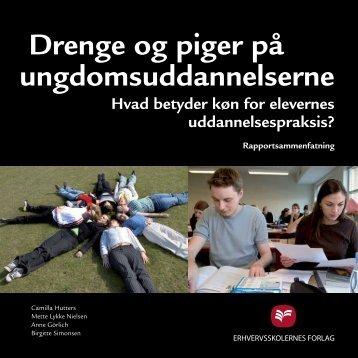 Hent rapportsammenfatning - Center for Ungdomsforskning