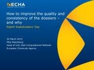 Dia 1 - ECHA - Europa