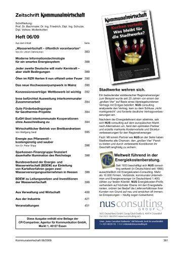 Zeitschrift Heft 06/09