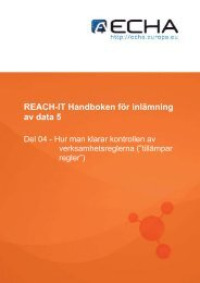 REACH-IT Handboken för inlämning av data 5 - ECHA - Europa