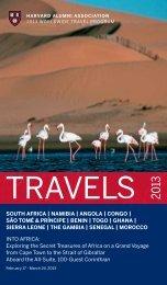 SOUTH AFRICA | NAMIBIA | ANGOLA | CONGO ... - Harvard Alumni