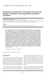 Prospective Evaluation of Neonatal Vancomycin Dosage Guidelines ...