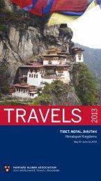 tiBet, nepal, BHUtan Himalayan Kingdoms - Harvard Alumni