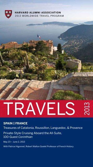 sPAin | FRAnce Treasures of Catalonia, Roussillon ... - Harvard Alumni