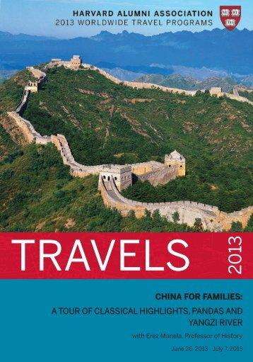 china for families - Harvard Alumni - Harvard University