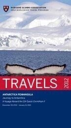 AntARCtiCA penninSulA Journey to Antarctica - Harvard Alumni