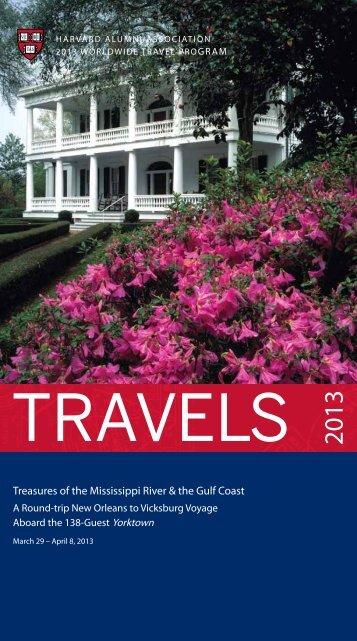 Treasures of the Mississippi River & the Gulf Coast - Harvard Alumni ...