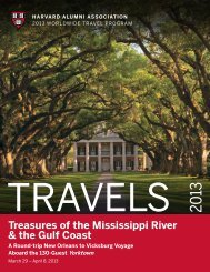 Treasures of the Mississippi River & the Gulf Coast - Harvard Alumni