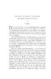 R. Berg: Nogle gamle danske købmandstyper, s. 130-143