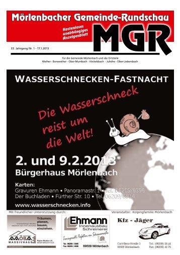 Mörlenbacher Gemeinde-Rundschau