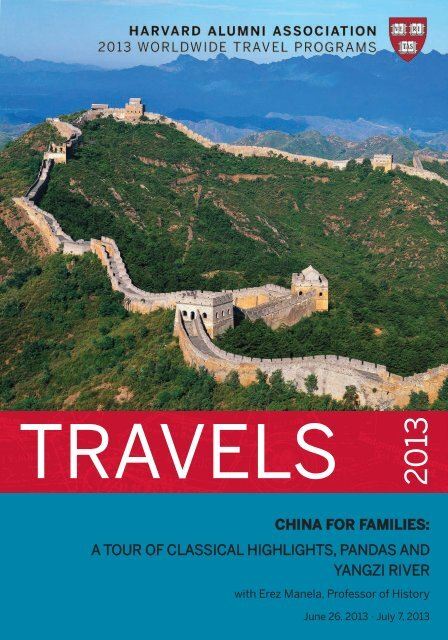 china for families: a tour of classical highlights, pandas and yangzi ...