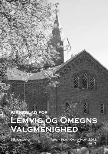 Kirkeblad for Lemvig og Omegns Valgmenighed