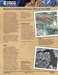 Remotely Sensed Data Collections: Offerings from ... - Landsat - USGS
