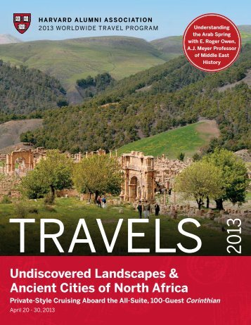 Undiscovered Landscapes & Ancient Cities of North Africa