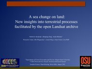 A sea change on land: New insights into terrestrial ... - Landsat - USGS