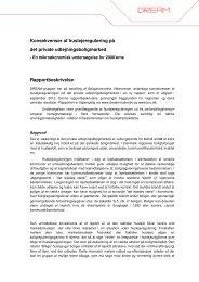Rapportbeskrivelse til - Danish Rational Economic Agents Model ...