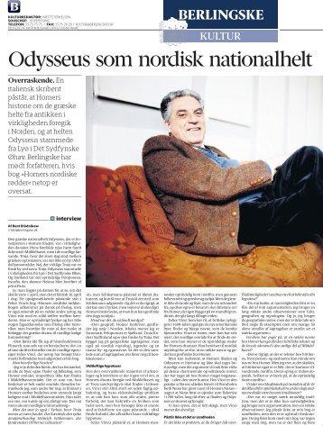 Odysseus som nordisk nationalhelt - eur.roma.it