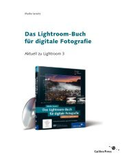 Das Lightroom-Buch für digitale Fotografie