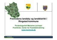Fremtidens landsby og landdistrikt i Ringsted kommune