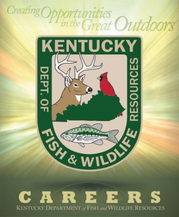 Brochure kentucky department of fish and wildlife resources for Ky fish and wildlife