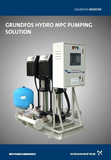 grundfos hydro mpc pumping solution - Energy-efficient pumps for ...