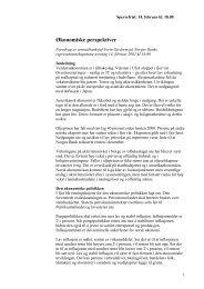 Økonomiske perspektiver - årstalen 2002 - Norges Bank