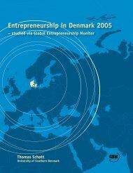 Entrepreneurship in Denmark 2005 - Erhvervsstyrelsen