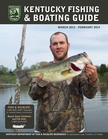 Fishing & Boating Guide March 1, 2013 - Kentucky Department of ...