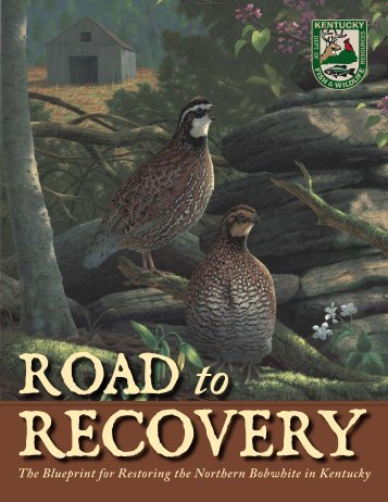 Quail Restoration Plan - Kentucky Department of Fish and Wildlife ...