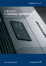 E-ŘEŠENÍ S E-ČERPADLY GRUNDFOS