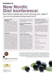 New Nordic Diet konference: - Altomkost.dk