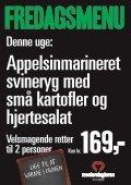 Krondyrsteg med vildtsauce, smørstegte kartofler, tyttebær og ... - Page 7