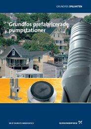 Grundfos prefabricerade pumpstationer