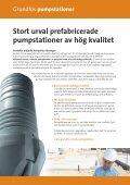 Grundfos prefabricerade pumpstationer - Page 2