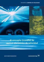 El concepto Grundfos de control electrónico de velocidad